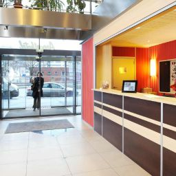 Ресепшен Sejours & Affaires Residence Lille Europe Apparthotel