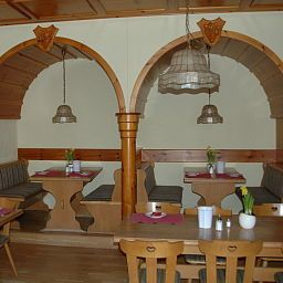 Breakfast room within restaurant Krone Post