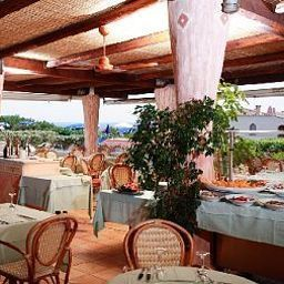 Breakfast room within restaurant Grand Hotel In Porto Cervo