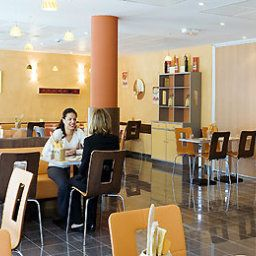 Breakfast room within restaurant ibis Cannes Mandelieu