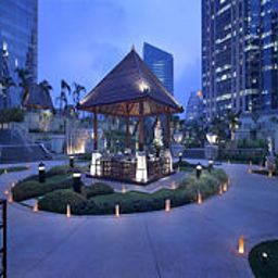 Vista esterna Jakarta Pacific Place The Ritz-Carlton