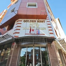 Exterior view Golden Rest Hotel