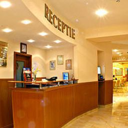 Recepción City Center Hotel Brasov