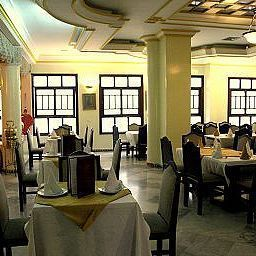 Breakfast room within restaurant Casablanca