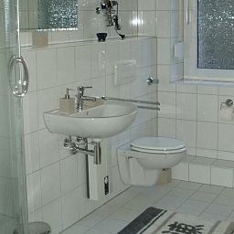 Bathroom Domapartment (Check In: Johannisstraße 43-45)