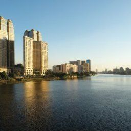 Vista esterna Fairmont Nile City  Cairo