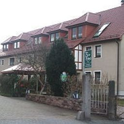 Vista exterior Rähnitz Pension