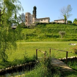 Garden Castello Montegiove Country House