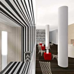 Interior view Edinburgh Hotel Missoni