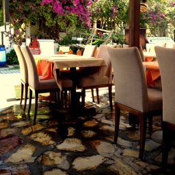 Breakfast room within restaurant Dalyan Caria Hotel
