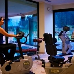 Fitness room Golf Hotel