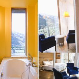 Ванная Bad Gastein Alpine Spa Hotel Haus Hirt