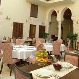 Breakfast room within restaurant The Liwan Hotel