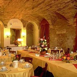 Breakfast room within restaurant Fonte Cesia