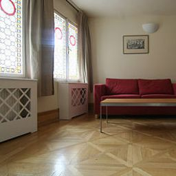 Vista all'interno Charles Bridge Residence