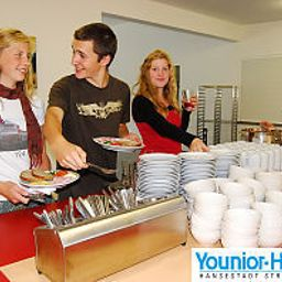 Buffet Younior-Hotel Stralsund