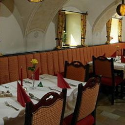 Breakfast room within restaurant Gasthof Maxlhaid