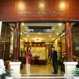 Фасад Hanoi Graceful Hotel