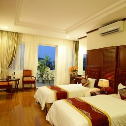 Room with terrace Hanoi Graceful Hotel