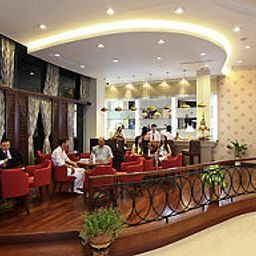 Breakfast room within restaurant Gerbera Hotel Hue