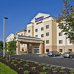 Фасад Fairfield Inn & Suites Columbus Polaris