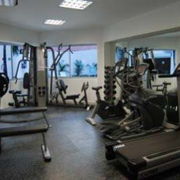 Wellness/fitness area Ramada Cancun City