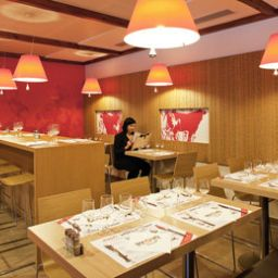 Breakfast room within restaurant ibis Geneve Petit Lancy