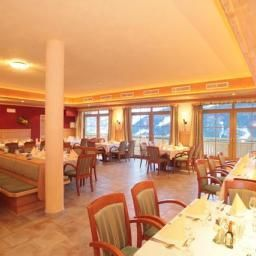 Breakfast room within restaurant Berghotel Jaga-Alm
