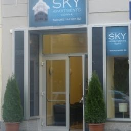 Exterior view Sky Apartments Vienna