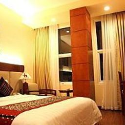 Vista all'interno Hanoi Happy Hotel