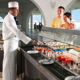 Buffet Club Sunshine Rosa  Rivage