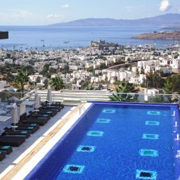 Widok z hotelu Grand Yazici Bodrum Boutique Hotel