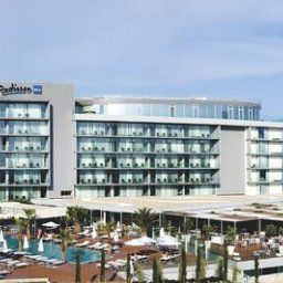 Exterior view Split Radisson Blu Resort