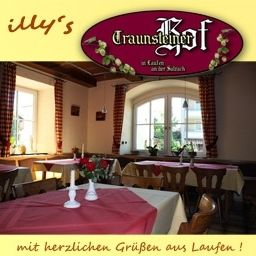 Breakfast room within restaurant Traunsteiner Hof