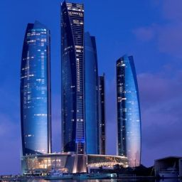 Exterior view Jumeirah at Etihad Towers Hotel