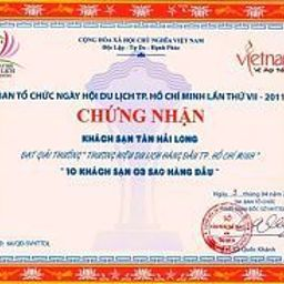 Certificato Tan Hai Long Hotel & Spa