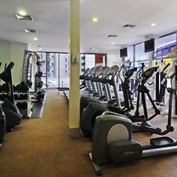 Wellness/fitness area Pullman Auckland
