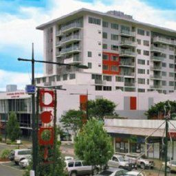 Фасад Toowoomba Central Plaza Apartment
