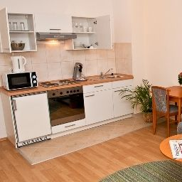 Kitchen Goethe Apartmenthaus