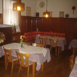 Breakfast room within restaurant Gasthof - Pension Krone