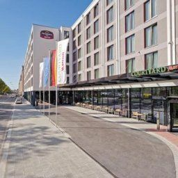 Фасад Residence Inn Munich City East