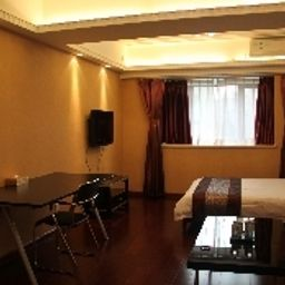 Chambre pour voyageurs d'affaires Great Shanghai International Garden Service Apartment