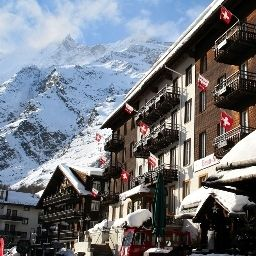 Exterior view Sunstar Hotel Beau-Site Saas-Fee