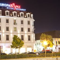 Exterior view Europa Royale Bucharest