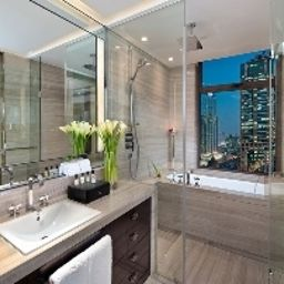 Bathroom The ONE Executive Suites Kempinski