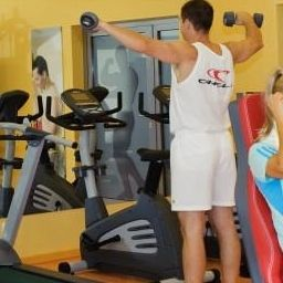 Fitness room Aquarius Apartamenty