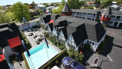 Hotelempfehlung - Hotel Camelot Motor Lodge - Christchurch