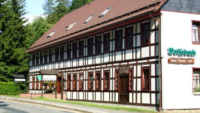 Hotelempfehlung - Hotel-Pension-Cafe Wolfsbach - Zorge