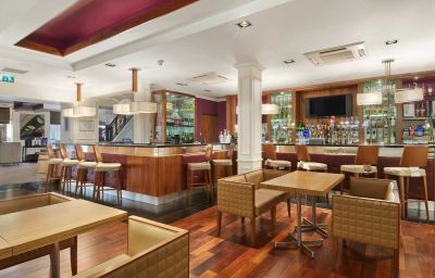 Hotel bar Hilton Edinburgh Grosvenor