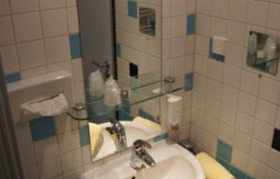 Bagno in camera Axxe Hotel